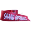 Alternate view of red ceremonial grand opening ribbon.