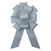 Assembled light blue ceremonial sparkling bow.