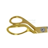Image of Golden Handle Stainless Steel Ceremonial Scissors in alternate pose