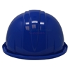 Ceremonial Royal Blue Groundbreaking Hard Hat Back View