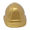 Front look picture of a Golden Groundbreaking Ceremonial Hard Hat.