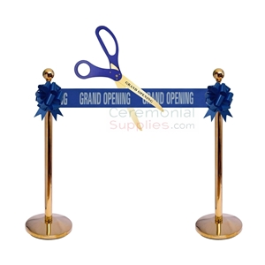 All blue grand opening stage kit image.