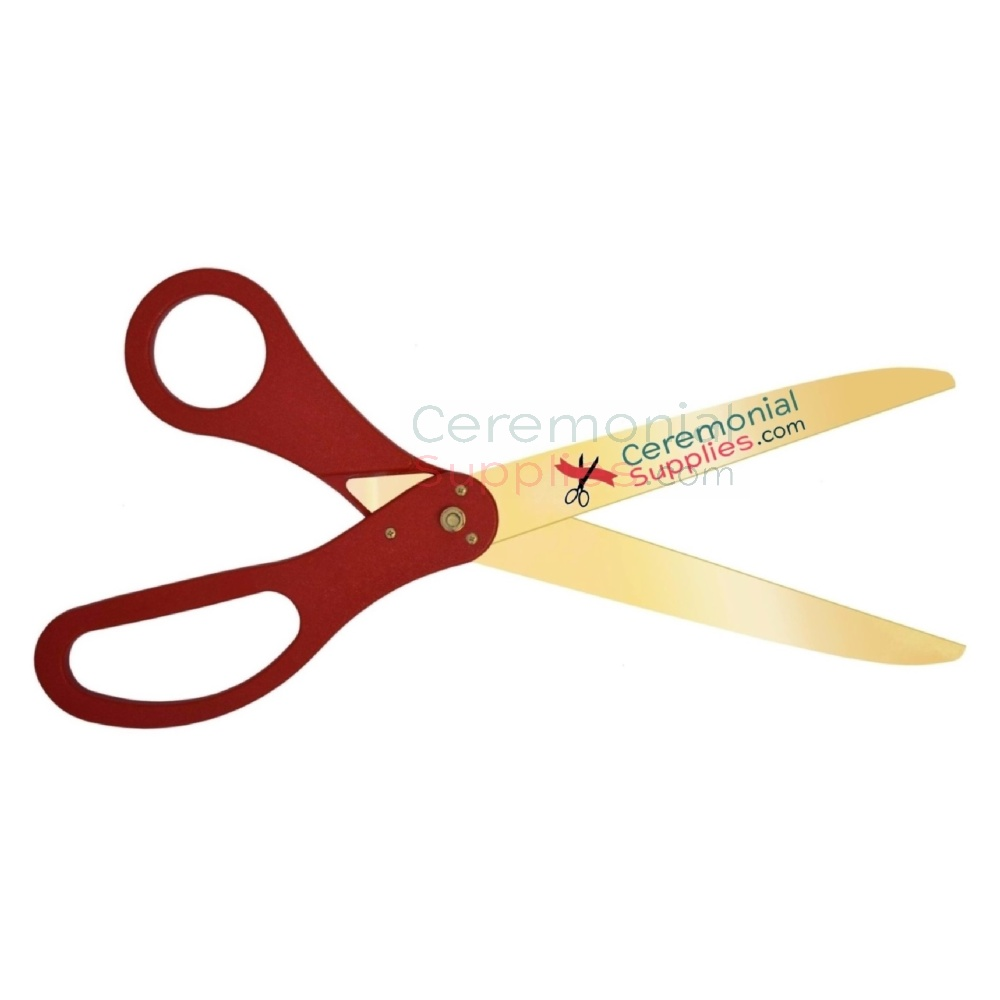 grand opening scissors and ribbon