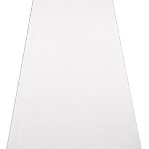Image of a White Wedding Aisle Runner.