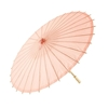 Picture of a Summer Paper Parasol in Peach.