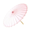 Shot of a Summer Paper Parasol in Vintage Pink.