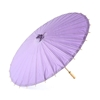 Photograph of a Summer Paper Parasol in Lavender.