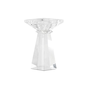 Image of a Elegant Crystal Candle Holder.
