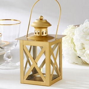 Image of a Classic Style Golden Lantern.
