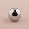 Image of a Silver Sphere Stationery Holder.