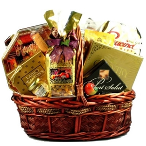 Image of a Treats for Joy Gift Basket.