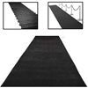 Picture of Elegant Black Gala Event Carpet Runner with Use Examples.