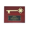 The Cherry Key to the City Plaque with Commemorative Text only.