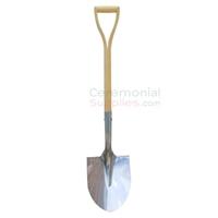 Profile picture of the Standard Chromed Stainless Steel Groundbreaking Shovel.