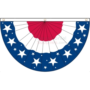 Picture of American Bunting Flag Graphic
