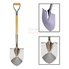 Picture of Custom Printable Ceremonial Groundbreaking Mirror Shovel.