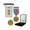 Pictured  1-3/8 Inch Global War On Terrorism Expeditionary Military Medal with Black Velour and Official Govt. Boxes