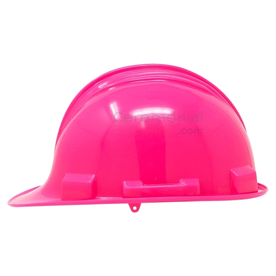 A Pink Hard Construction Hat
