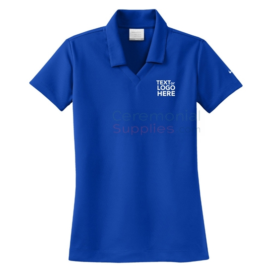 A Ceremonial Personalized Ladies Nike Polo Shirt