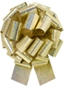 """Photo of 14"""" Holographic Gold Pull Bow"""