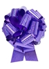 """Photo of 14"""" Holographic Purple Pull Bow"""