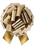"Photo of 14"" Metallic Gold Pull Bow"