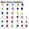 Picture Displaying All the Bow Color Options for the Full Suite Kit