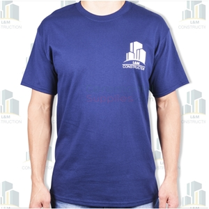 A front view of a Mens Ceremonial T-shirt