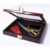 Ceremonial Scissor Display Case for 10.5 inch Scissors Open Box