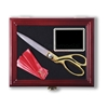 Ceremonial Scissor Display Case for 10.5 inch Scissors front view