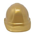 Front look picture of a Golden Groundbreaking Ceremonial Hard Hat.