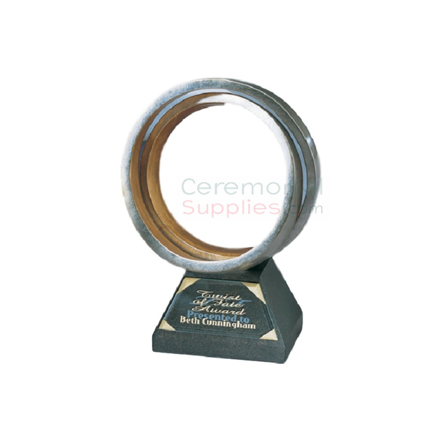 Image of an upright Corporate Achievement Trophy.