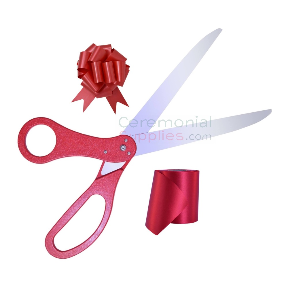 Image of Essential Ribbon Cutting Full Kit in Red