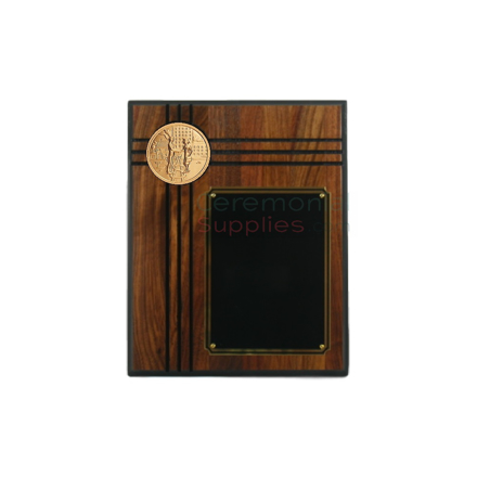 Image of the Sales MVP Walnut Plaque.