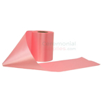 Picture of Light Pink Ceremonial Ribbon in Unrolled Pose.
