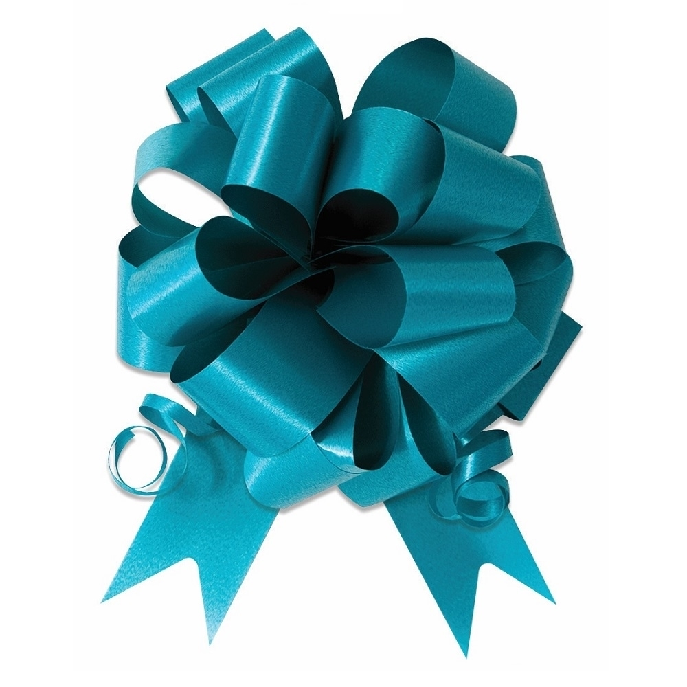 Turquoise Ceremonial Pull Bow front View.