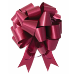 Image of Burgundy Ceremonial Pull Bow in 8 Inch Width.