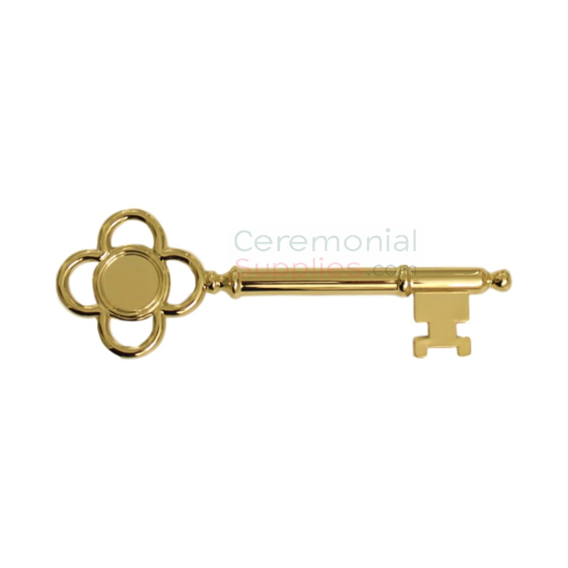 View of a Golden Key To The City.