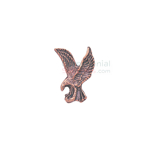 Bronze lapel pin of the American Eagle