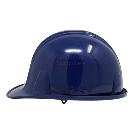 A Navy Blue Hard Hat