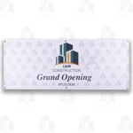 A Custom Grand Opening Event Backdrop Banners