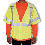 Man wearing a Lightweight Standard Safety Vest
