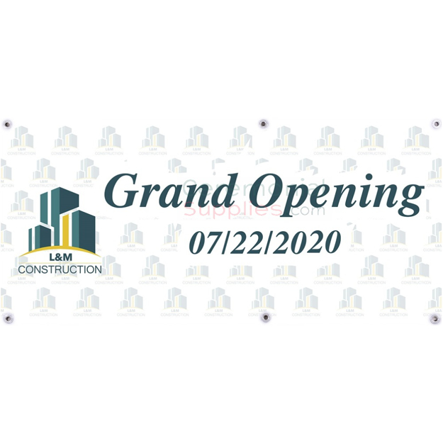 Personalized Grand Opening Banner