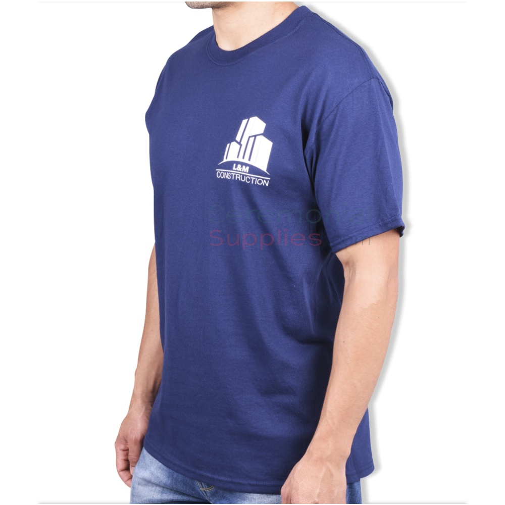 Mens Wearing Ceremonial T-shirt