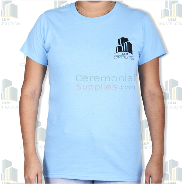 A front view of a Womens Ceremonial T-shirt