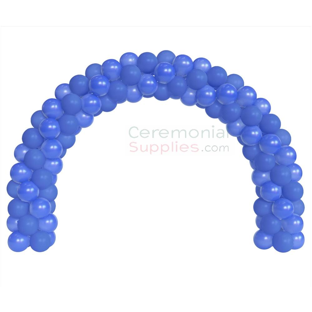 A 6 Foot Decorative Blue Balloon Arch Kit