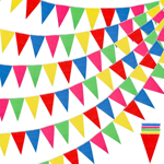 Colorful Pennant Flag