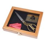 Walnut Scissors Box