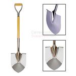Chrome Groundbreaking Shovel