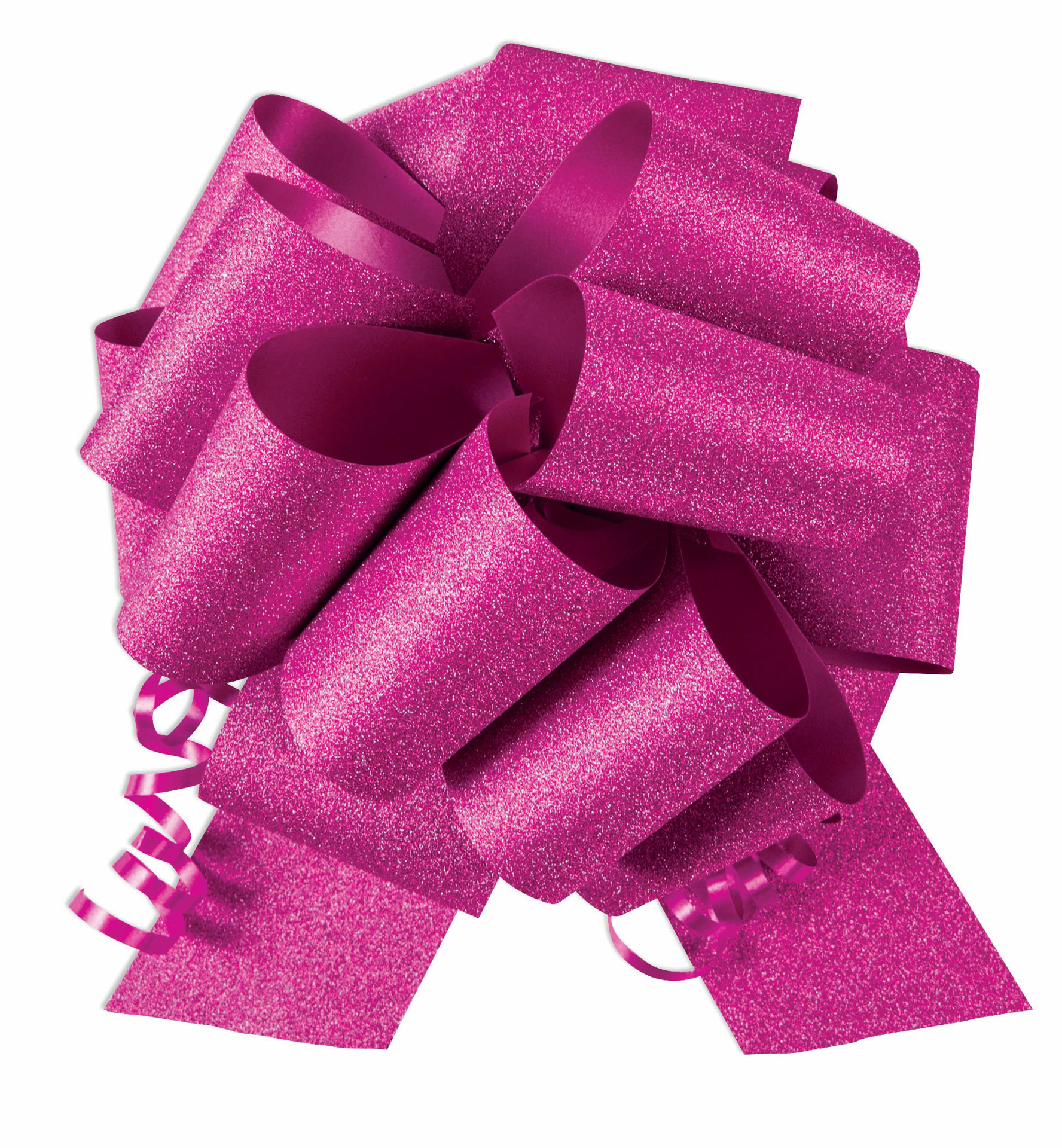 Hot Pink Ceremonial Pull Bow in 8 Inch Width